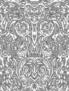 15 CRAZY Busy Coloring Pages for Adults Coloring pages for