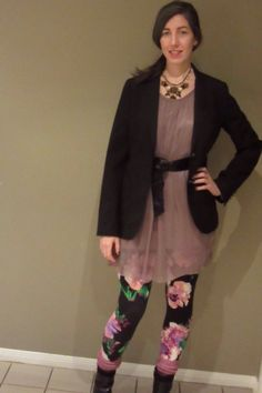 The Frugal Fashionista: How To - Wear Leggings to Work