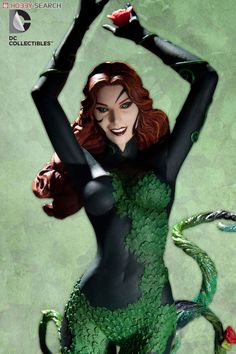 Cover Girls of the DC UNIVERSE / Poison Ivy New 52 ver (Completed) Item picture2 Ivy Fashion, Poison Ivy Dc Comics, Poison Ivy Cosplay, Dc Trinity, Female Villains, Batman Universe, Dc Universe, Shady Lady, New 52