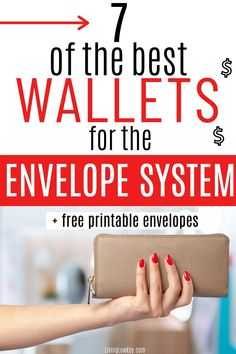7 wallets that are perfect for the cash envelope system. If you are looking to perfect the envelope system make sure to use one of the budget wallets. #budgetwallet #cashenvelopewallets #cashbudgetwallet #daveramseywallet #cashenvelopesystem #daveramsey Budgeting System, Budgeting Finances, Budgeting Tips, Envelope Budget System, Cash Envelope System, Money Saving Mom, Money Saving Challenge, Cash Envelopes, Ways To Save Money