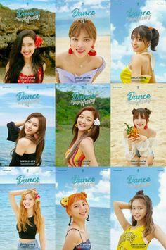 twice dance the night away Nayeon, Kpop Girl Groups, Korean Girl Groups, Kpop Girls, K Pop, Twice Names, Signal Twice, Girls Generation, Twice Group