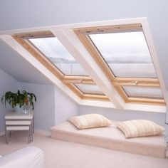 Velux Skylights in Melbourne is not just like others in the market because they use a toughened glass within the roof structure. If you also want to install Velux Skylights, consider Skylight Shop. We are just a phone call away. Attic Master Bedroom, Attic Rooms, Attic Spaces, Bedroom Loft, Attic Bathroom, Attic Playroom, Attic Library, Loft Beds, Attic Apartment