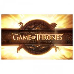 Game of Thrones Logo Poster [11x17] - $7.99