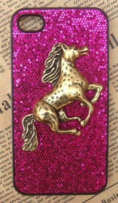 Horse bling glitter case for Iphone  | Iphone cases and covers