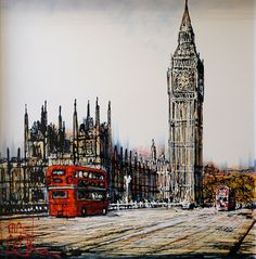 Original Oil Painting by Nigel Cooke - How amazing is this ?! !