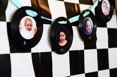 Liz B's Birthday / Diner Soda Shop Retro Birthday Party - Photo Gallery at Catch My Party Retro Birthday Parties, 50s Theme Parties, 60th Birthday Party, 1st Boy Birthday, 50s Party Decorations, Happy Birthday, Birthday Games, Birthday Crafts, Birthday Ideas