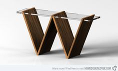 triangular stands