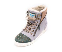 Le Bunny Bleu Le Bunny Bleu - Grey Selah Hidden Heel Sneakers Romantic Vintage