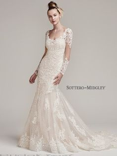 Sottero and Midgley Melrose 6SC764 - [Sottero and Midgley Melrose] -  Buy a Maggie Sottero Wedding Dress from Bridal Closet in Draper, Utah