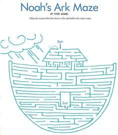 LDS Games - Mazes - Noahs Ark