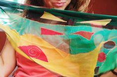 #pañuelo #solidario Soma green en www.luxeli.com