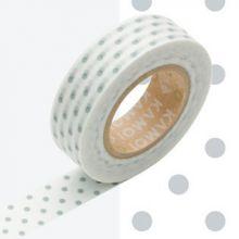 Masking tape à pois rose - Dot cosmo