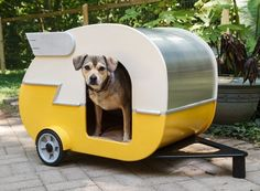DIY Doggy House - Shasta Style (I will probably never make this, but it's pretty cool)