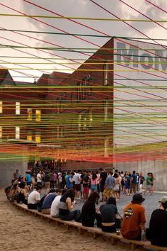 Escobedo Soliz, Rafael Gamo Fassi · Weaving the Courtyard