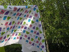 Örkki fabric Hennin, Drawstring Backpack, Monkey, Photoshop, Backpacks, Fabric, Bags, Tejido, Handbags