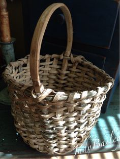 Love this small early basket