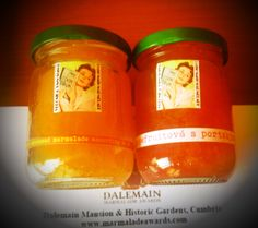 Samples for Dalemain Marmalade Awards