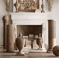 19th C. Neoclassical Architectural Elements: Column