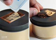 Ursula from Homemade by Carmona shares with us, How to Make Custom DIY Magnetic Tins! They are so easy to make too! Homemade 3d Printer, How To Treat Acne, Dollar Stores, Magnets, Geek Stuff, Create, How To Make, 3d Printing, Cooking