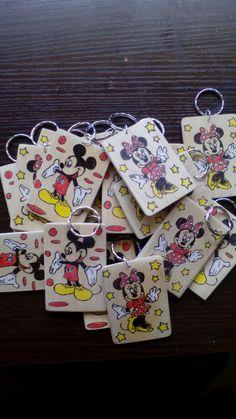 Πυρογραφια σε ξύλο  Mickey & Minnie