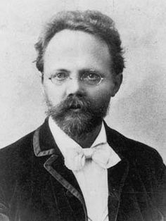 German composer Engelbert Humperdinck (1854-1921)