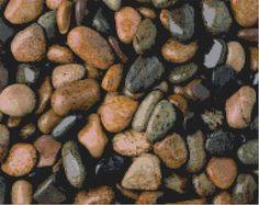 pebbles cross stitch pattern