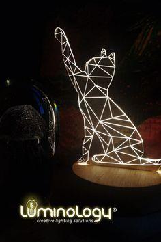 Notre #lampe 3d en forme de #chat donnera une touche originale à votre décoration.🐱Achetez directement sur notre site et recevez-le à votre porte.🎁✨🚛 . . Nous expédions en #France et en #Angleterre. Passez votre commande en quelques minutes en toute sécurité.📱 www.luminology.fr ou www.luminology.co.uk . . Chat 3d, Lampe 3d, Decoration, Illusions, France, Gift Ideas, Gifts, England, Shape