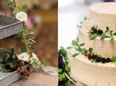 Summer Wedding at Alderbrook Resort & Spa! Cake - Alderbrook Resort / Photography - Alante Photography /  Florals - Teressa Johnson Studio