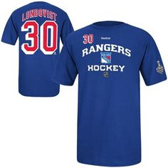 Henrik Lundqvist New York Rangers Reebok 2014 Stanley Cup Bound Name    Number T-Shirt - Royal Blue 5e490a889