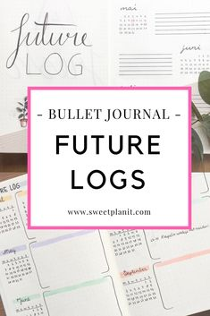 Bullet Journal Future Log Ideas and Inspiration #bulletjournal #bujo #bujojunkies #bujoinspire