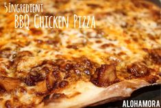 Alohamora: Open a Book: BBQ Chicken Pizza- 5 Ingredient Pizza.  Super easy to make, use your leftover crock-pot chicken, and it's a meal everyone enjoys.  I love the thin pizza crust as well.  Alohamora Open a Book http://www.alohamoraopenabook.blogspot.com/ homemade pizza, kid friendly, ready in 20 minutes, 30 minute meal, fast, quick, simple, delicious, CPK California Pizza Kitchen copycat recipe