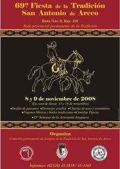 69° Fiesta de la Tradición, 2008.