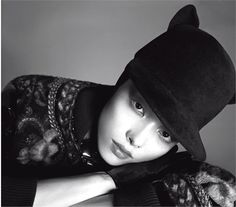 From Fall Winter 2013-14 Collections: We love hats! - click on the photo to see all garments and accessories in Photogallery