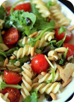 Salade à l'Italienne; une recette de mon quatre heures bricoleur #recette #salade #italienne