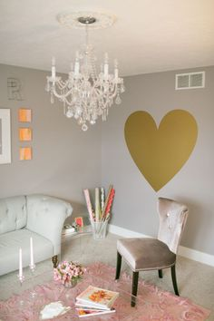 an employee lounge like this would be fab! The Hey Gorgeous Events office, photo by Harrison Studio My Room, Girl Room, Deco Originale, Hey Gorgeous, Baby Boy Rooms, Home Living Room, Decoration, Room Decor, Wall Decor