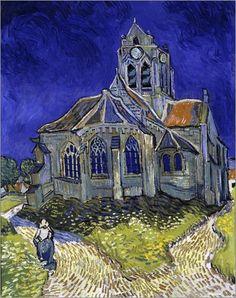 Vincent van Gogh - Kirche in Auvers-sur-Oise