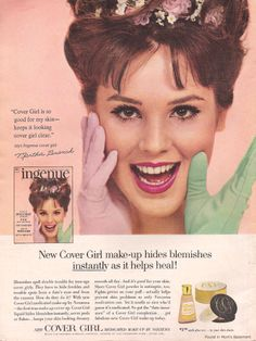 History of CoverGirl and their Ads