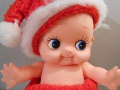 Vintage Santa Kewpie Doll