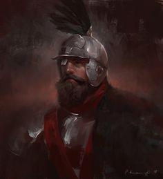 Polish hussars, Pawel Kaczmarczyk on ArtStation at https://www.artstation.com/artwork/dWWYK