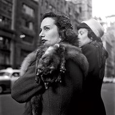"""A comparative analysis of Vivian Maier's work (with Lisette Model, Diane Arbus, etc.) on the blog """"Because it's there."""""""