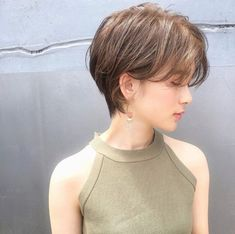 Pin on ヘア Short Hair Syles, Short Hair Cuts, Curly Hair Styles, Asian Short Hair, Girl Short Hair, Short Hair Outfits, Hair Arrange, Cut My Hair, Pixie Hairstyles
