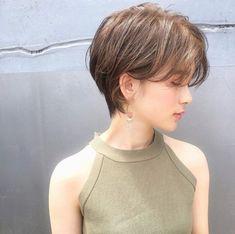 Pin on ヘア Short Hair Syles, Short Hair Cuts, Curly Hair Styles, Asian Short Hair, Girl Short Hair, Short Hair Outfits, Japanese Hairstyle, Japanese Haircut, Hair Arrange