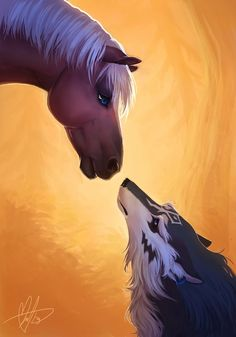 Epona and wolf Link | Legend of Zelda Twilight Princess