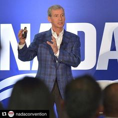 """We are glad to be the part of this change in automotive. Great speech! #Repost @nadaconvention @nada """"Focusing on velocity marketing and experience can materially change your business."""" - Mark ONeill Executive VP and COO Cox Automotive during his Distinguished Speaker Series The Relevance Revolution: Data and the Auto Industry. #NADASHOW #cars #car #tech #retail #marketing #omnichannel #video #call #videocall #videocommerce #vcommerce"""