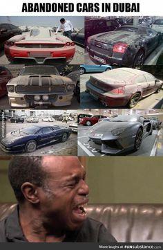 Your Dream Car Is Dubai S Trash Photos Cars Dubai And