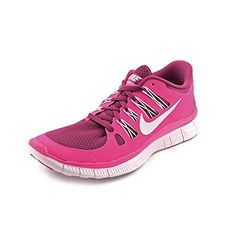 Nike Womens Wolf Grey Vivid Pink and White Free 50 Running Shoes * You can find more details by visiting the image link. (This is an Amazon affiliate link)