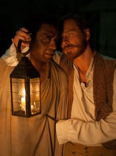 "Michael Fassbender in ""12 Years a Slave"" -- I have been fascinated with him since ""Hunger"".  One of the best actors of our time..."