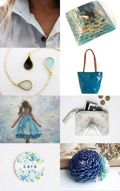 BLUE SKY by SHUNA on Etsy--Pinned with TreasuryPin.com