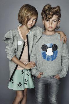 #minirodini aw12 panda skirt by Karolina Henke