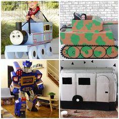 Ideas for toys from cardboard boxes for children http://zpravynovinky.cz/index.php/1180-napady-na-hracky-z-kartonovych-krabic-pro-deti.html #ideas #toys #cardboard #boxes #children